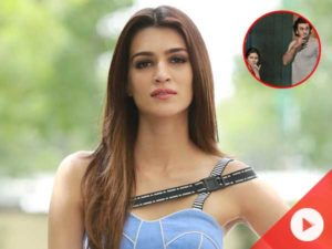 WATCH! Here's how Kriti reacted to Ranbir-Mahira's NYC picture
