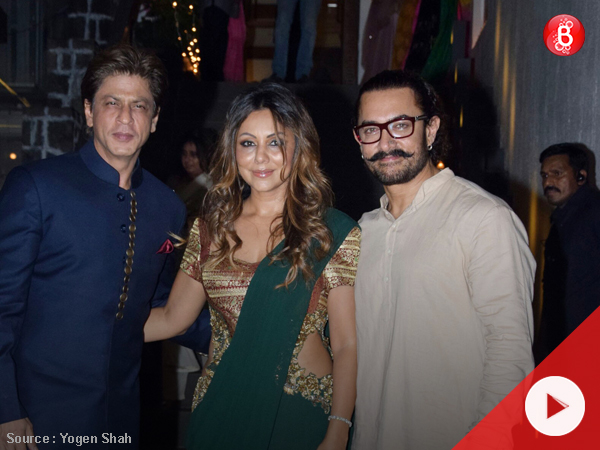 Watch: Aamir Khan hosts a star-studded Diwali Party