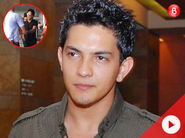 Watch: Aditya Narayan gets into a verbal fight with an airport staff