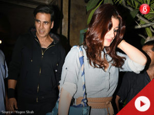 WATCH: Akshay Kumar and Twinkle Khanna clicked outside Pali Bhavan