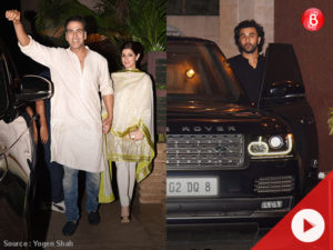 Watch: Akshay and Twinkle, Ranbir, Arjun and others party at a friend's place