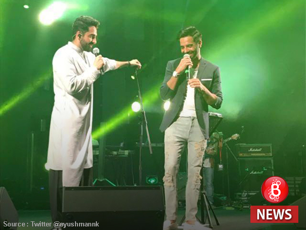 Khurrana and Khurana! Ayushmann and Aparshakti pump up the energy in Dubai