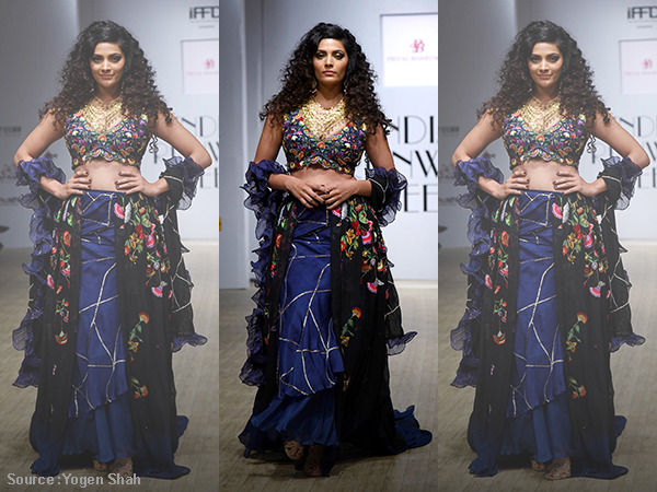 Whoa! Saiyami Kher is a poser-cum-stunner on the ramp!
