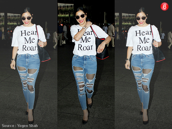 Sophie Choudry's casual look is all about 'ROARING' in style!