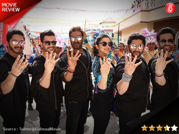Golmaal Again movie review: Ventures into 'Horredy' with humour perfectly in place