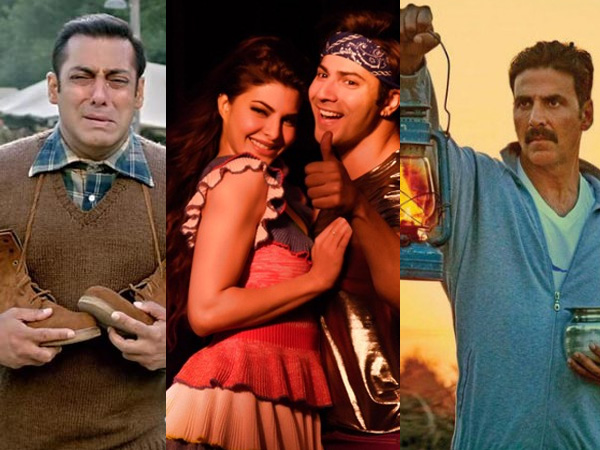 Whoa! 'Judwaa 2' races ahead of 'Tubelight' and 'Toilet - Ek Prem Katha' on day 2