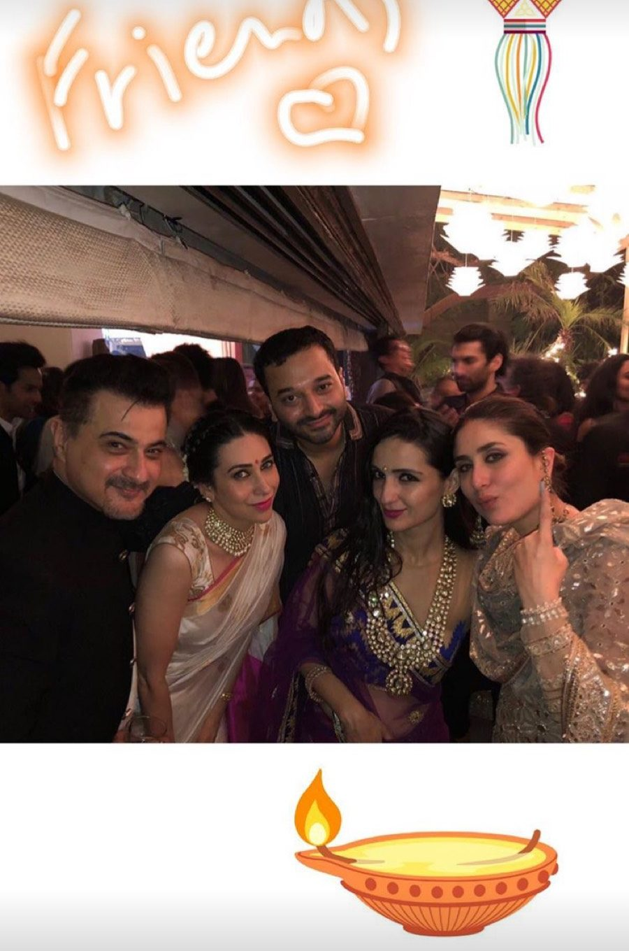 Karisma, Kareena and others