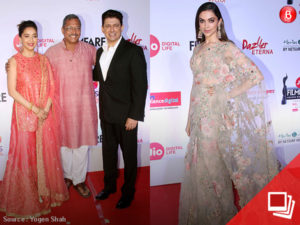 Stars at Filmfare Awards Marathi 2017