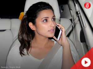 WATCH: Parineeti Chopra spotted visiting her friend's home