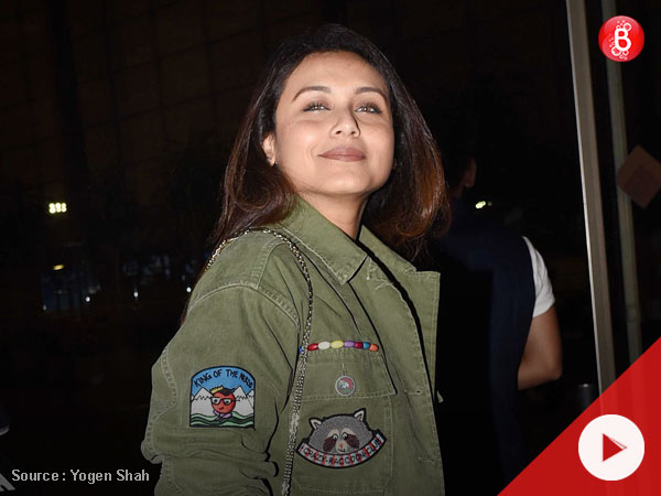 Watch: The price of Rani Mukerji's bag and shoes can fund a couple's Bali trip!