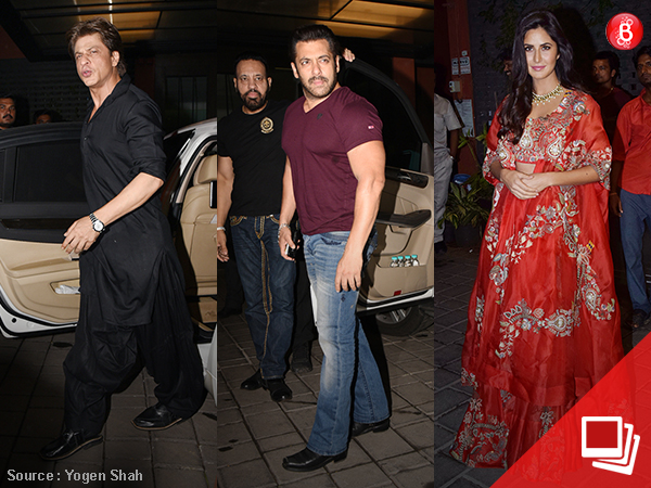 From SRK, Katrina to the Khandaan, here are all who attended Arpita Khan's Diwali bash