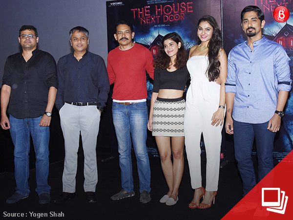 PICS: Siddharth and team 'The House Next Door' unveil the trailer of the movie
