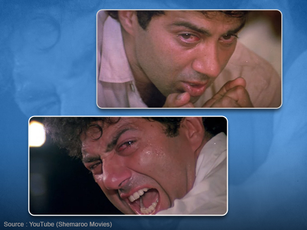 Reel to Real anger: When Sunny Deol ripped his jeans on the sets of 'Darr'