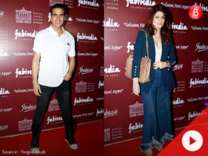 WATCH: Akshay, Twinkle, Hrithik, Sussanne at red carpet of play 'Salaam Noni Appa'