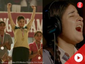 From a wrestler to a singer, Zaira's onscreen journey has bowled us over