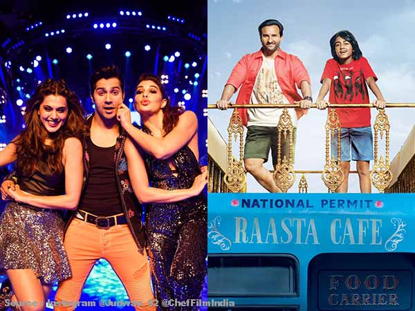'Judwaa 2' holds quite well on second Monday, while 'Chef' remains low on first Monday
