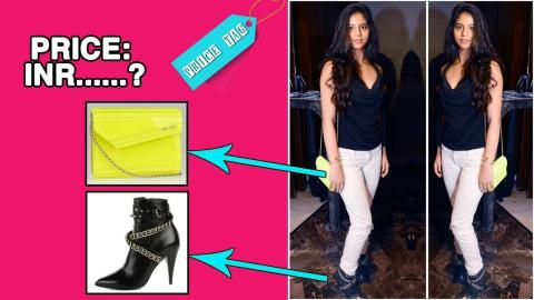 #PriceTag: Suhana Khan makes a Fashion Statement with Her Boots