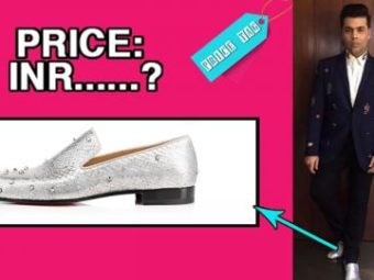 #PriceTag: The Cost Of KJo's Shimmery Shoes Can Leave Anyone Blinded