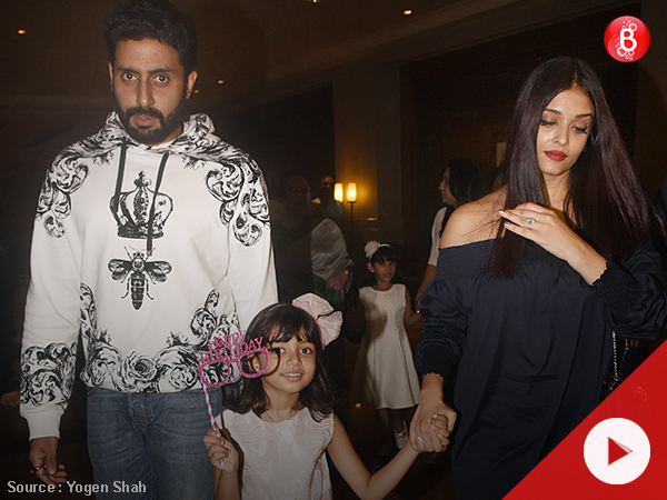 Aaradhya celebrates her 6th birthday with Abhishek, Aishwarya at JW Marriott, Juhu