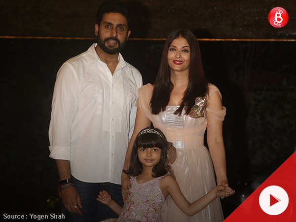 Watch: Aishwarya Rai Bachchan and Abhishek Bachchan host Aaradhya's 6th birthday party