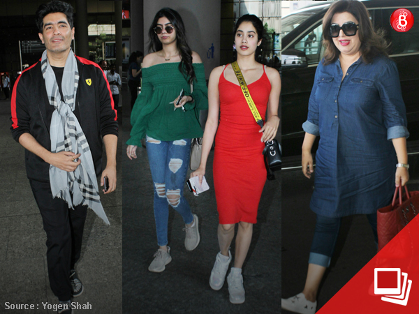 Airport spotting: Manish Malhotra, Farah Khan and others zoom in and out of the city