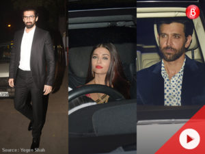 Watch: Aishwarya, Hrithik, Aditya Roy Kapur and other Bollywood celebs spotted at a wedding