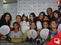 Aishwarya with Vrinda and Aaradhya