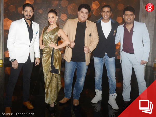 PICS: Kapil is back on Akshay's show 'The Great Indian Laughter Challenge'