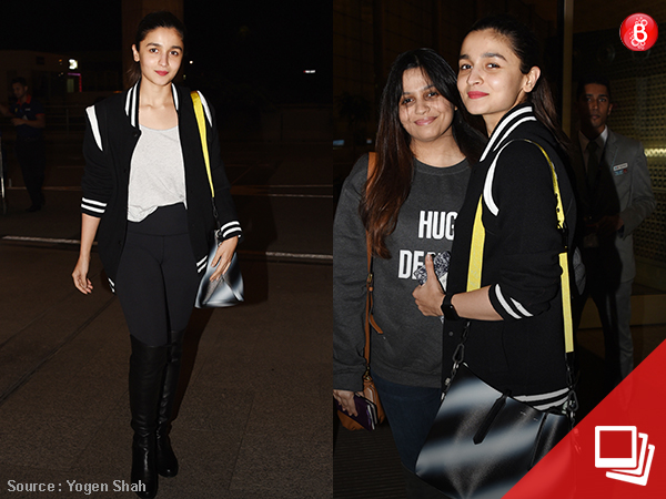 PICS: Alia Bhatt and sister Shaheen whisk off to London