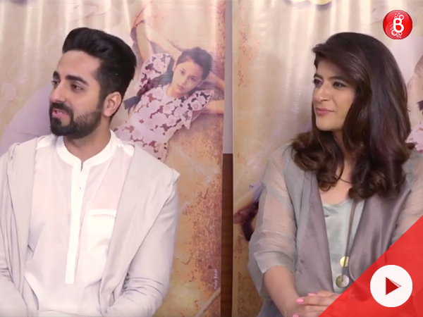 Watch: Break Time with Ayushmann Khurrana and Tahira Kashyap