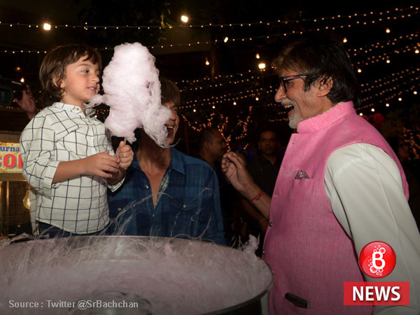 Move over SRK and Amitabh Bachchan, it's Abram who stole our hearts in THIS picture