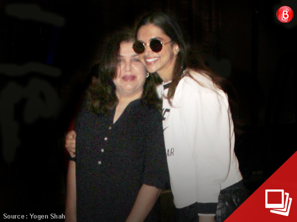 Coincidental reunion: Deepika meets Farah, a day before #10YearsOfOSO