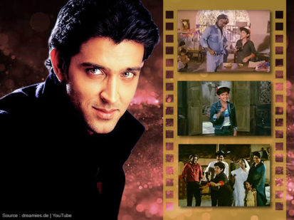 Hrithik Roshan first movie