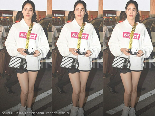 #OOTD: Jhanvi Kapoor shows us how to deal with the winter in style!