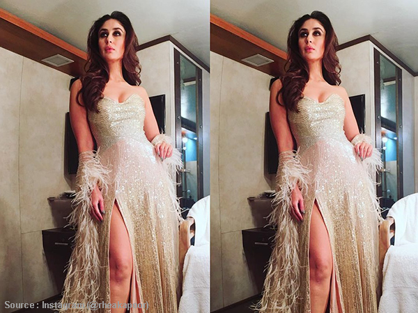 777760e6c Kareena Kapoor Khan s feathery gown is raising temperatures like ...