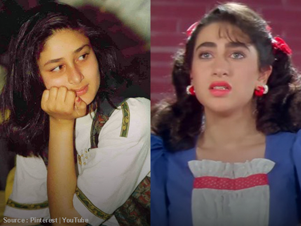 When a little Kareena would hide and watch her sister Karisma cry
