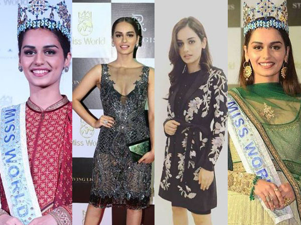 Miss World 2017 Manushi Chhillar's designer outfits have got us gushing over her beauty
