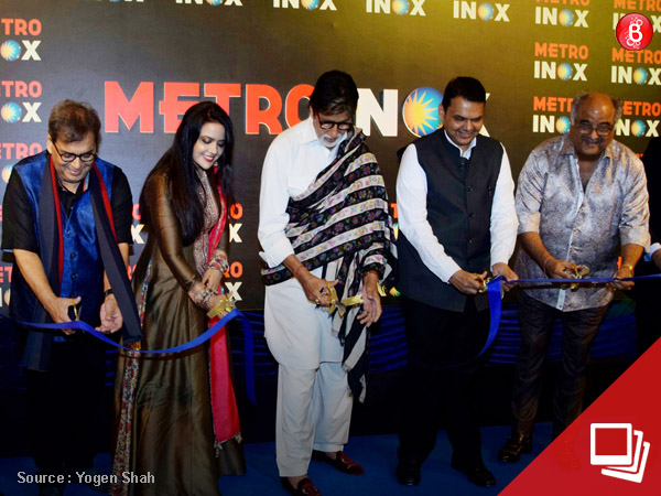 PICS: Amitabh Bachchan, Boney Kapoor and others at the opening of Metro Inox