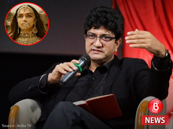 Padmavati: CBFC chief Prasoon Joshi shares his thoughts on the controversy