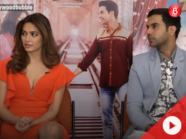 The Short Talk: Kriti Kharbanda & Rajkummar spill the beans about 'Shaadi Mein Zaroor Aana'