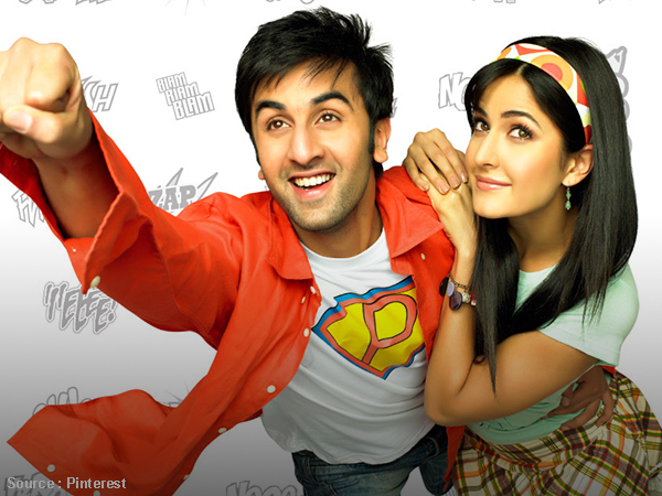 When Ranbir and Katrina spilled their magic for the first time with 'Ajab Prem Ki Ghazab Kahani'