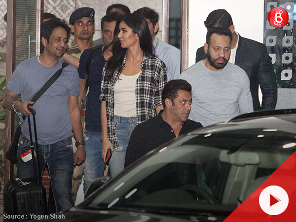 Watch: Salman Khan spotted with Katrina Kaif at airport
