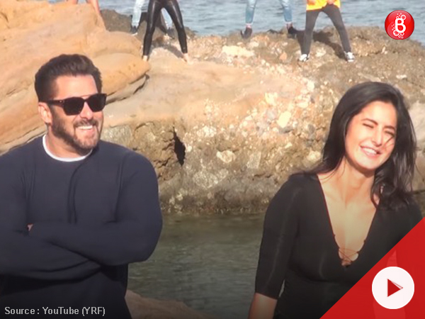 Swag Se Swagat BTS: Salman and Katrina took over Greece to get the right moves