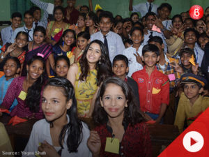 Watch: Shraddha Kapoor celebrated Children's Day with school kids