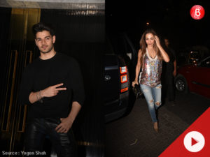 Malaika Arora, Ekta Kapoor and others attend Sooraj Pancholi's birthday party