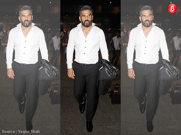 #OOTD: Suniel Shetty flashes a polished look that every man through midlife crisis should opt for