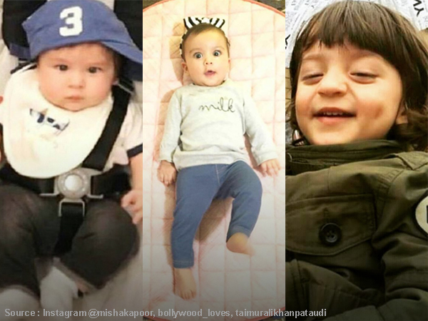 Taimur, AbRam and Misha were the perfect eye candy through the year