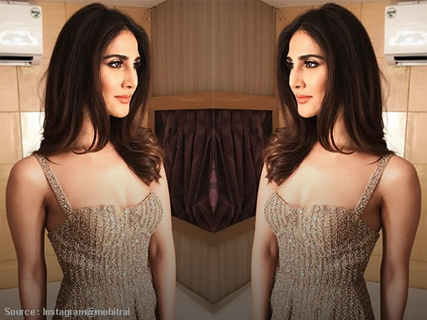Vaani Kapoor dazzles in a golden number and we are floored!