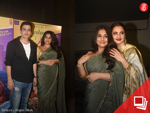 'Tumhari Sulu' screening turns extra special with Rekha's presence among others