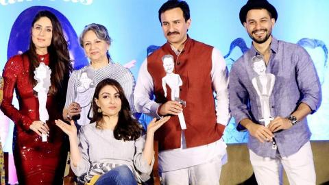 Kareena Kapoor, Saif At Soha Ali Khan's 'The Perils of Being Moderately Famous' Book Launch